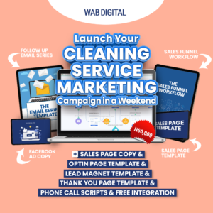Cleaning Service Marketing
